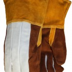Foundry Welder Kevlar® Thread Sewn Reinforced Thumb Fully Sock Lined Clute Pattern Gloves 0714000