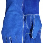 Kevlar® Thread Sewn Gunn Pattern Shoulder Leather Gloves 076008D
