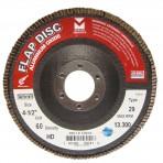 Type 29 High Density Discs Type 29 High Density Discs Aluminum Oxide 4-1/2 x 5/8 – 11 with Grit 40  330H040