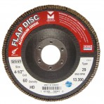 Type 29 Standard Flap Discs Type 29 Standard Flap Discs Aluminum Oxide 4-1/2 x 7/8 with Grit60 340060
